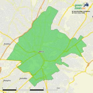 Umweltzone Athen Großer Ring - Griechenland