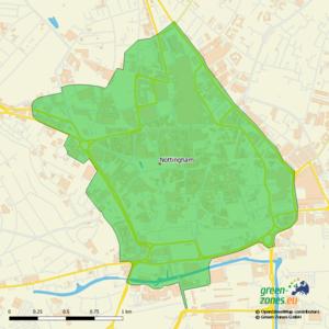 Umweltzone Nottingham - Großbritannien