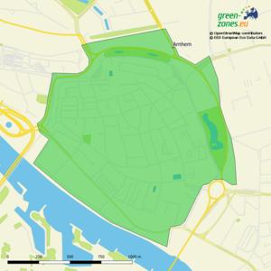 Umweltzone Arnheim - Niederlande