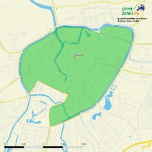 Umweltzone Breda - Niederlande