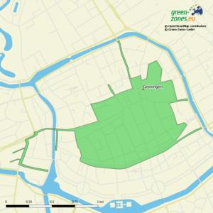 Environmental zone Groningen - Netherlands