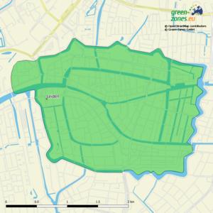 Umweltzone Leiden- Niederlande