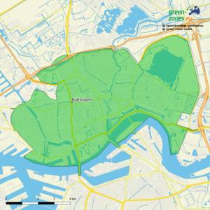 Umweltzone Rotterdam Stadt - Niederlande