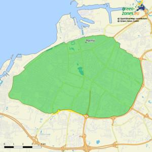 Umweltzone Malmö - Schweden