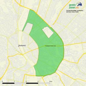 Umweltzone Budapest Közép–Pest - Ungarn